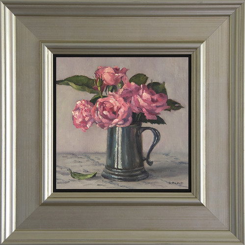 Queen Elizabeth Roses - Framed