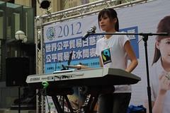 公平貿易公益代言大使陳曼青(台灣公平貿易協會提供)