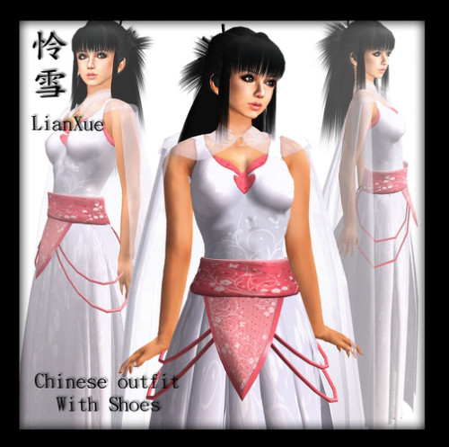 (Charming) Chinese Outfit - LianXue