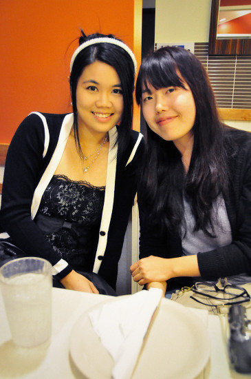 My Birthday Bash at the Sizzler: Me and HyeWon
