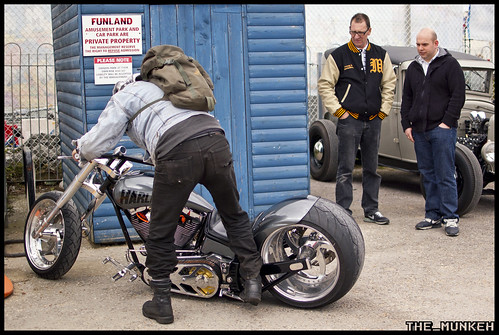 Victory Wheelers - Hayling Reunion - 2012 - Harley