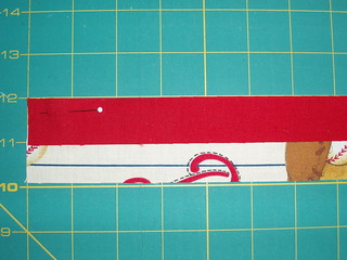 2 sided binding step 1