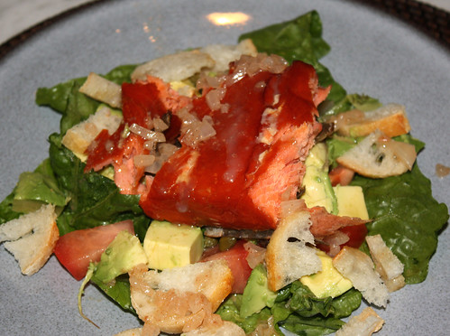 Smoked Salmon Salad with Brown Butter Vinaigrette