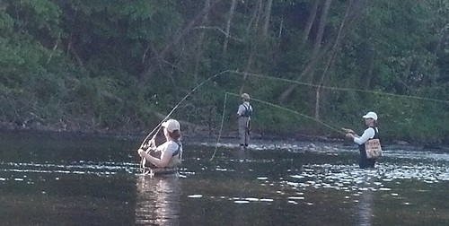 Girls 39 night out on the farmington river orvis news for Farmington river fly fishing