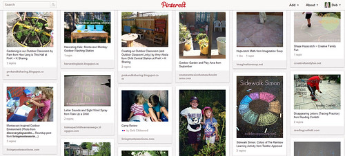 Outdoor Classroom Pinterest Board