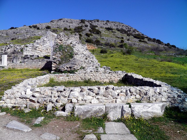The fortification wall, Philippi