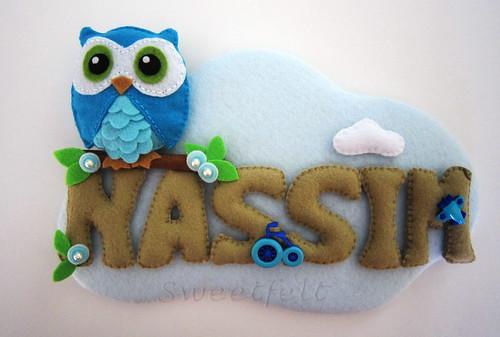 ♥♥♥ Nassim... by sweetfelt \ ideias em feltro