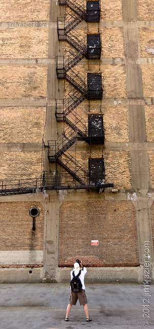 Shooting the fire escape