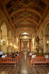 Do your prayers at the Stunning Church Of San Augustin - Things to do in Santiago