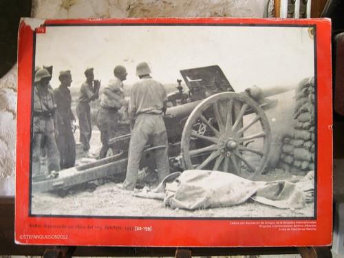 El año 1937 Belchite España