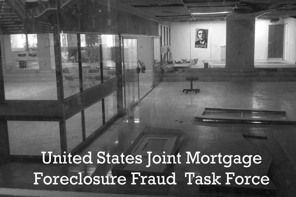 FORECLOSURE FRAUD TASK FORCE