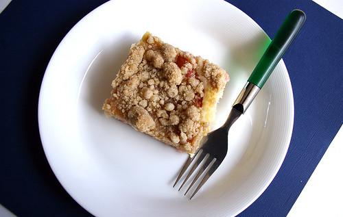 Rhubarb Snacking Cake Patent The Pantry