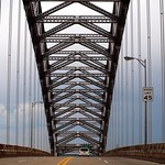 Bayonne Bridge over Kill Van Kull, Staten Island-New Jersey