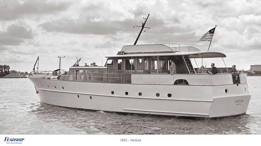 1953 - Ventura | Feadship Royal Dutch Shipyards | Flickr