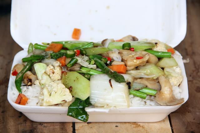 Pad Pak Ruam Mit (Stir Fried Vegetables) ผัดผักรวมมิตร