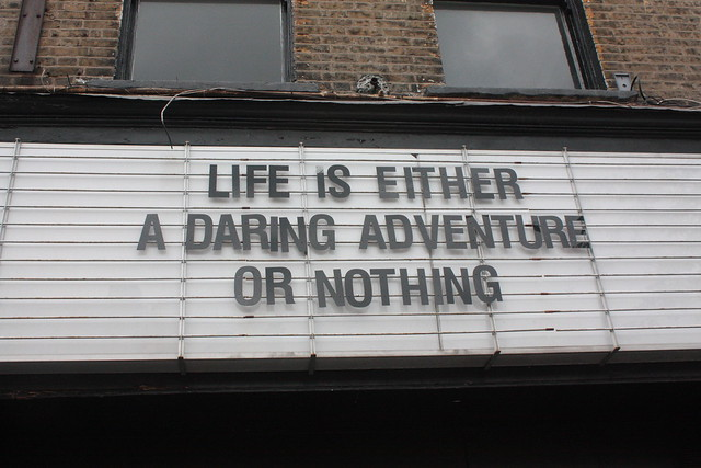 life is either a daring adventure or nothing at all essay format