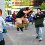 Double Dutch Street Performance by 祭 - Matsuri @ Vancouver City Centre Station
