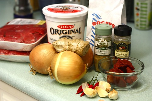 korma ingredients