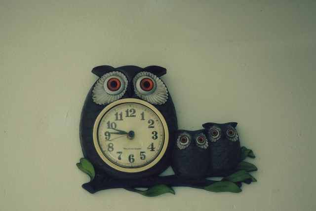 Cutest Owl Clock Ever