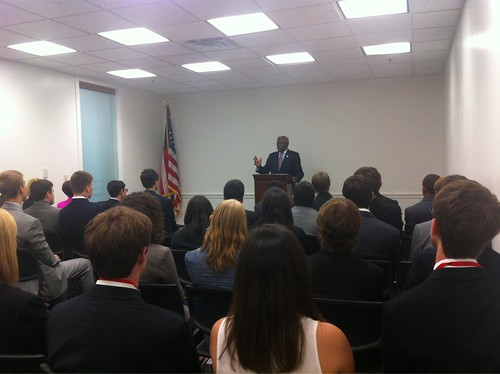 NSLC POLI Students Meet Congressman Clyburn at the U.S. Capitol