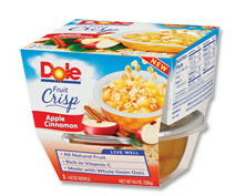Dole Fruit Bowls All Natural Fruit In 100% Juice Coupon