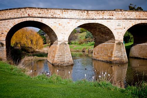 Richmond Bridge - Australia's oldest bridge (built 1823-1825)
