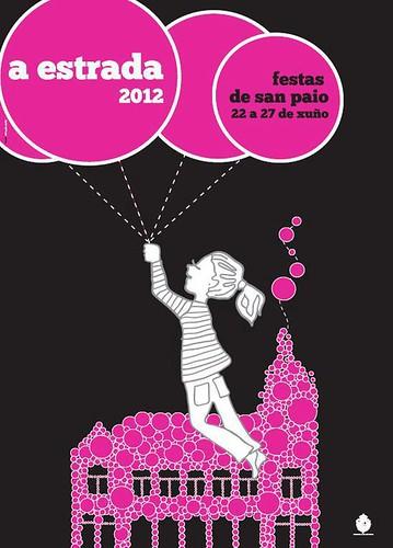 A Estrada 2012 - Festas de San Paio - cartel
