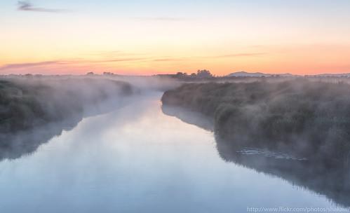 light sky nature water norway fog canon river landscape norge twilight scenery europe outdoor natur norden himmel scandinavia 2470l northeurope rogaland landskap elv klepp ef2470f28 canonef2470mmf28usm canoneos5dmarkiii eos5dmarkiii