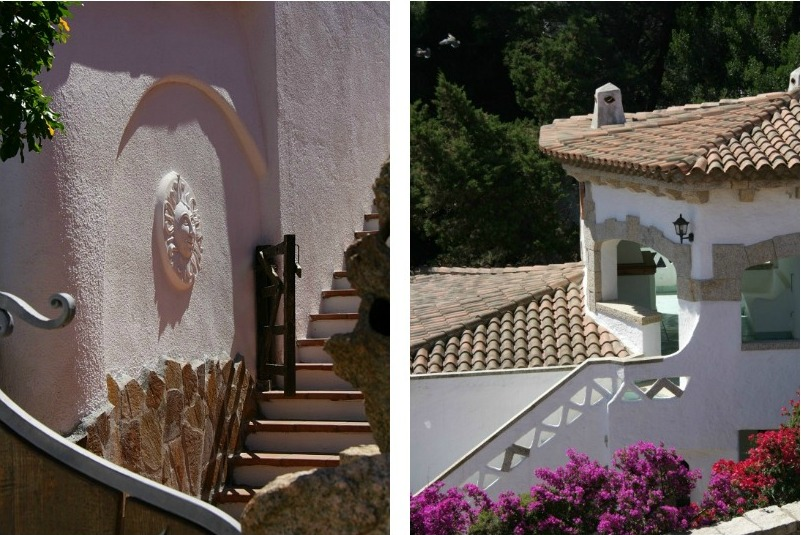 Collage белый домик