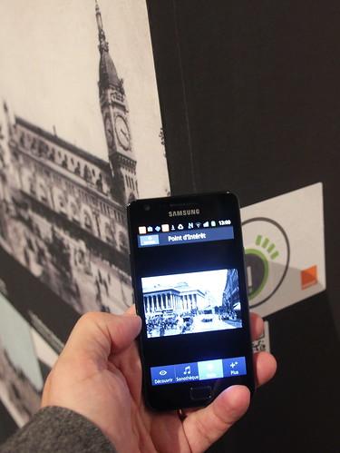 Information contextuelle NFC - Expo Circuler