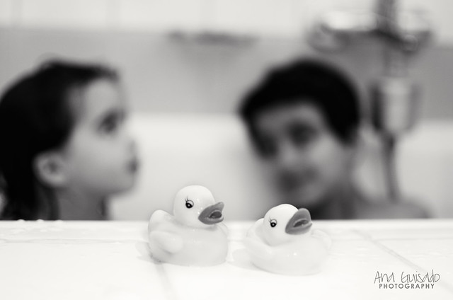 En la bañera