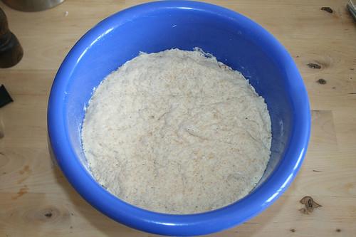 36 - Teig aufgegangen / Raised dough