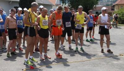 Lomnická etapa Moravského ultramaratonu - rekordní účast a vedro