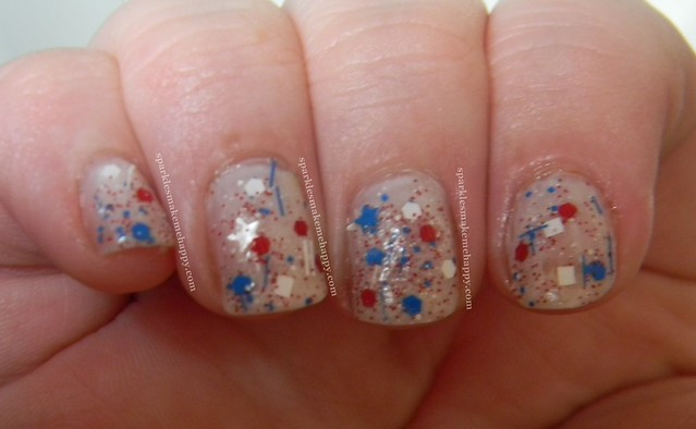 Amy's Nail Boutique over Essie Marshmellow