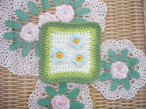 'creativegranny' (UK) Square for our 200th Blanket. Thank you!