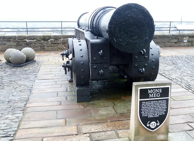 Mons Meg Canon, Edinburgh Castle