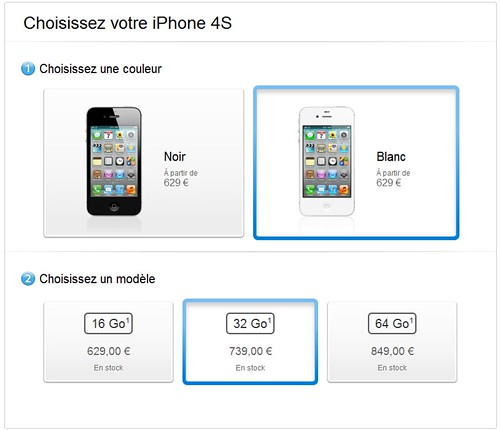 gros boutons - apple