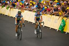 Tour de France 2012 - Arrivée de l'étape 6 à Metz !