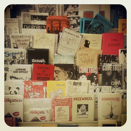 Zines at Downtown Books & News