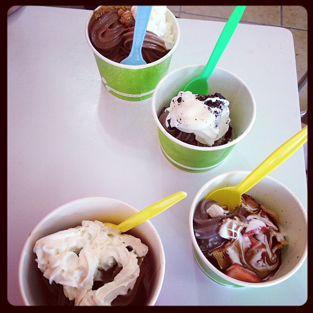 Yay new frozen yogurt place in town!
