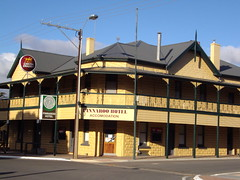 Pinnaroo Hotel in the Murray Mallee South Australia.