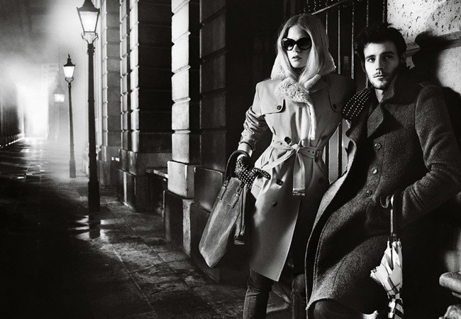 4 Burberry Autumn Winter 2012 Ad Campaign featuring Gabriella Wilde and Roo Panes5