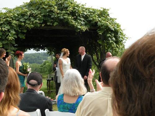 Hannah's wedding