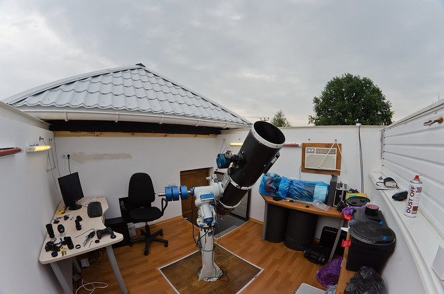 Should try amateur astronomical observatory space wants