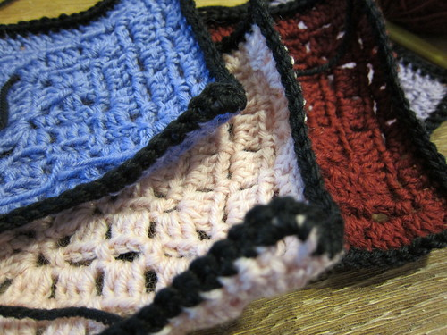 solid colors afghan