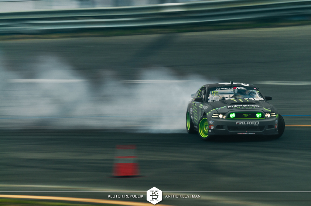 black grey falken monster energy ford mustang drifting at formula drift the wall new jersey 3pc wheels static airride low slammed coilovers stance stanced hellaflush poke tuck negative postive camber fitment fitted tire stretch laid out hard parked seen on klutch republik