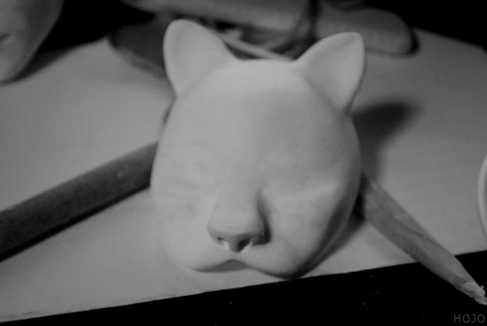Cat Mask for BJD