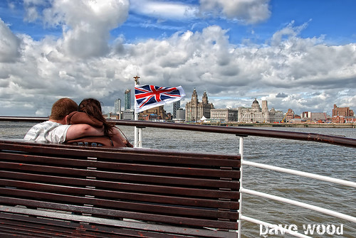 Lovers on the River Mersey Ferry - Liverpool 2007