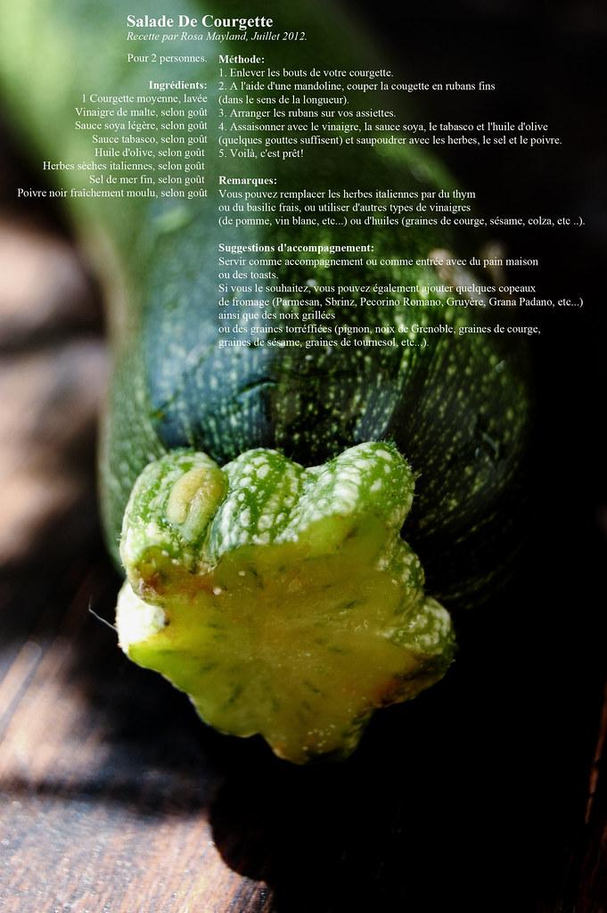 Courgette - Zucchini 1 2 bis bis