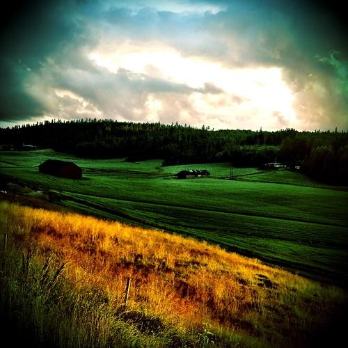 suomi finland countryside north farnorth kesä